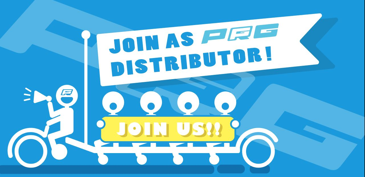 Join Us As PRG Distributor